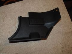 MAZDA MX5 EUNOS (MK1 1989 - 97) LHS LOWER FOOTWELL PANEL - BLACK - PASSENGER